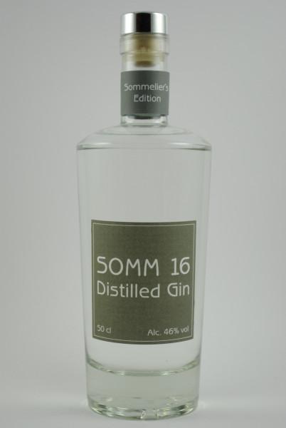 SOMM 16 Distilled Gin, Wekerle